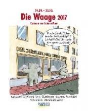 Die Waage 2017. Sternzeichen-Cartoonkalender