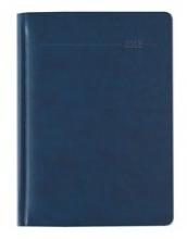 Buchkalender Tucson blau 2018 - Bürokalender A5