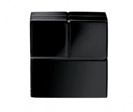 , magneet voor glasbord Sigel 20x20x20mm Super Strong zwart