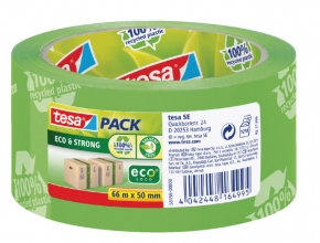 , Verpakkingstape Tesa 50mmx66m Eco print groen