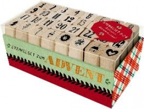 Stempelset zum Advent Holzstempel-Set