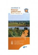 ANWB , Fietskaart Rivierengebied oost 1:66.666