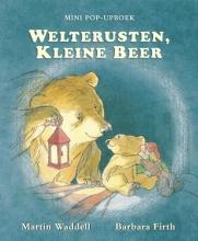 Martin  Waddel Welterusten, Kleine Beer. Mini pop-upboek