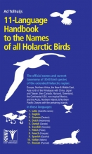 Ad Tolhuijs , 11-language Handbook to the Names of all Holarctic Birds