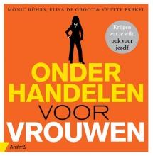 Yvette Berkel Monic Bührs  Elisa de Groot, Onderhandelen voor vrouwen