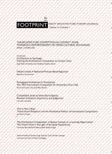 , Footprint 26. The Architecture Competition as 'Contact Zone