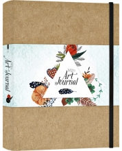 , Art Journal A5 bruin
