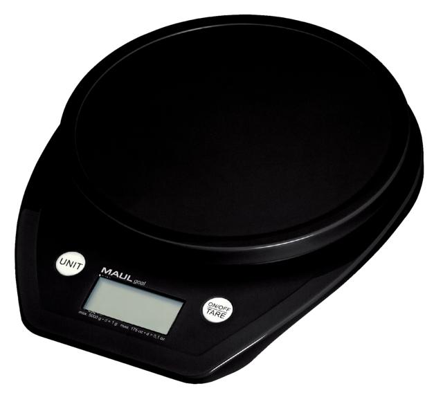 ,Briefweger MAUL Goal tot 5000 gram zwart incl.batterij