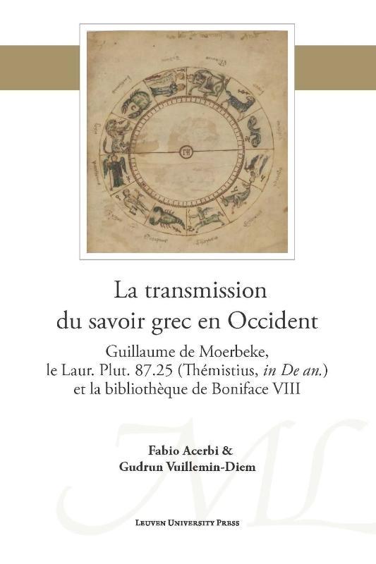 Fabio Acerbi, Gudrun Vuillemin Diem,La transmission du savoir grec en Occident