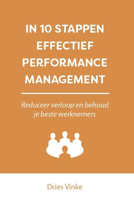 Dries Vinke,In 10 stappen effectief performance management