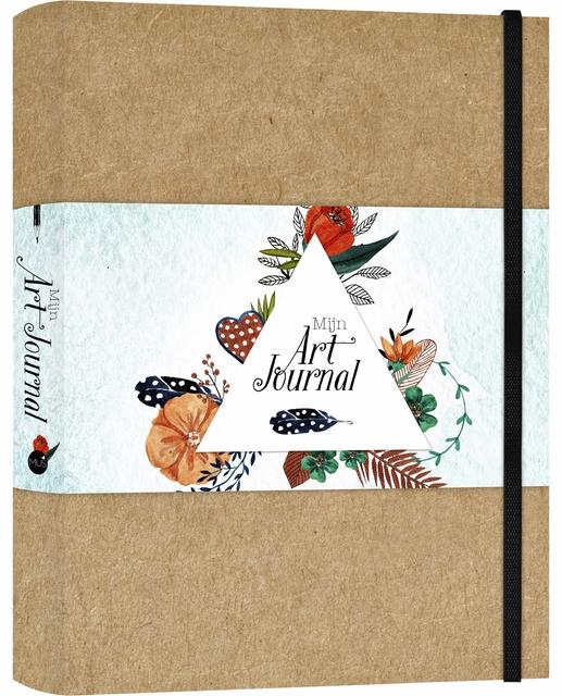 ,Art Journal A5 bruin