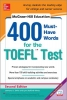 Stafford-Yilmaz, Lynn,McGraw-Hill Education 400 Must-Have Words for the TOEFL, 2nd Edition