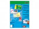 ,visitekaartjes Sigel 3C 210grs pak a 100 stuks voor         fotokwaliteit wit