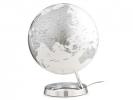 ,globe Bright Chrome 30cm diameter kunststof voet engelstalig