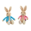 ,Peter Rabbit knuffel 19cm blauw/roze (12x in display)