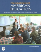 Johnson, James A. Foundations of American Education