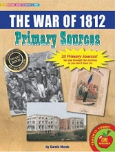 Marsh, Carole The War of 1812 Primary Sources Pack