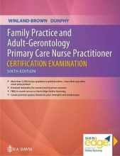 Jill E. Winland-Brown,   Lynne M. Dunphy Family Practice and Adult-Gerontology Primary Care Nurse Practitioner Certification Examination