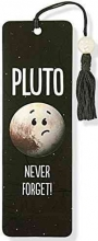 Pluto - Never Forget! Beaded Bookmark
