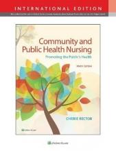 Cherie Rector Community & Public Health Nursing
