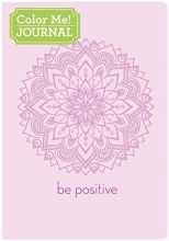 Color Me Journal Be Positive