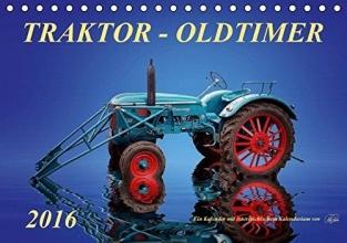 Roder, Peter Traktor - OldtimerAT-Version (Tischkalender 2016 DIN A5 quer)