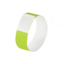 , evenementenbandjes Sigel super soft, 255x25mm 120 stuks     neon groen