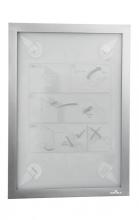 , Duraframe Durable 484323 A4 zilver