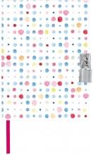 Dagboek dots met slot