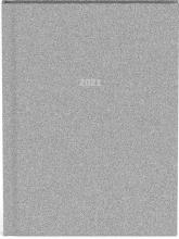 , Agenda 2021 10x15 glitter zilver