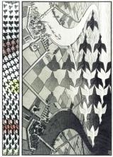 Puz-829 , Puzzel m.c. escher - day and night - 1000