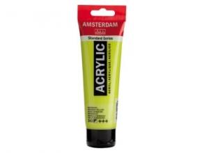 , Talens amsterdam acrylverf tube 120 ml groengeel 243