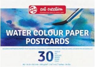 9717009m , Talens art creation aquarelpapier briefkaartformaat 10x15cm 30stks