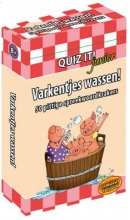 Quiz it junior  / Varkentjes wassen