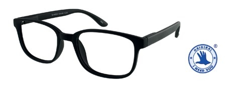 ,Leesbril +2.00 regenboog zwart