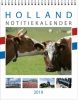 ,<b>Maandnotitiekalender 2019 holland</b>