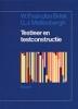 W. van den Brink en G.J. Mellenbergh, Testleer en testconstructie
