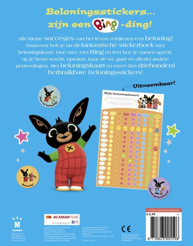 ,Bing - Mijn belonings-stickerboek