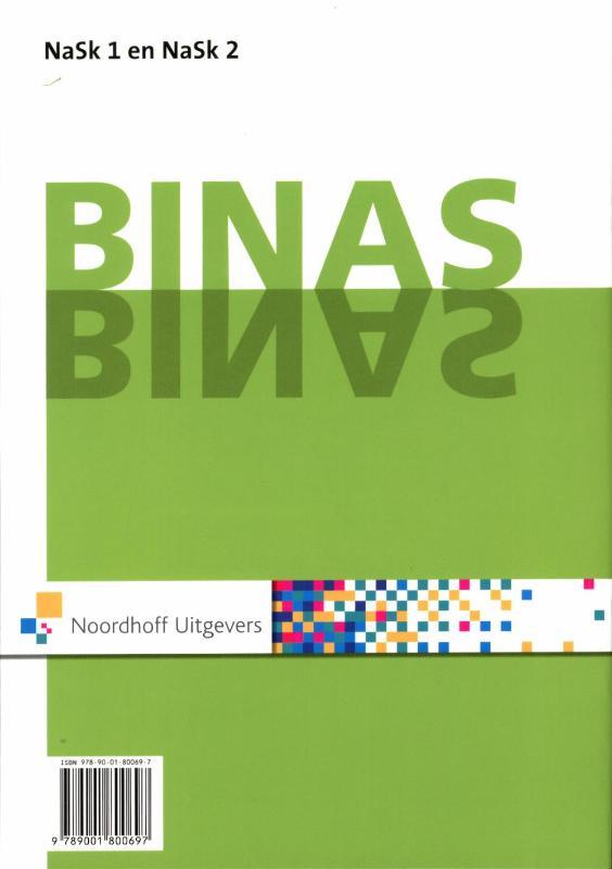 ,Binas Nask1 en nask2 vmbo-kgt informatieboek