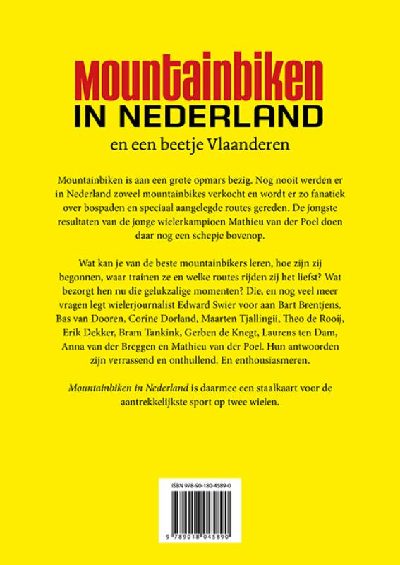 Edward Swier,Mountainbiken in Nederland