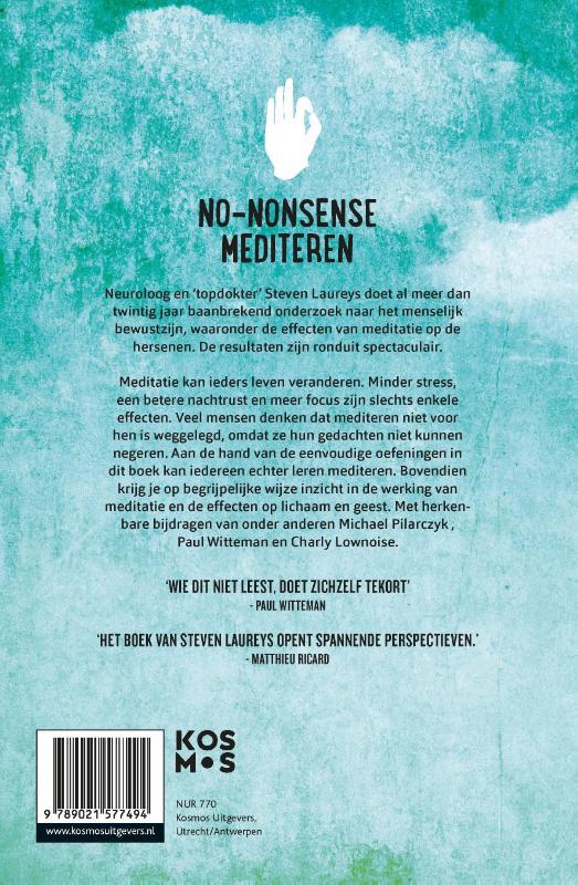 Steven Laureys,Het no-nonsense meditatieboek