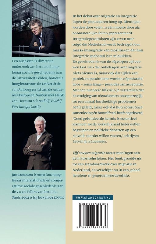 Leo Lucassen, Jan Lucassen,Vijf eeuwen migratie