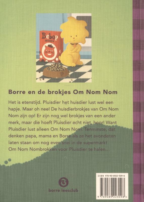 Jeroen Aalbers,Borre en de brokjes om Nom Nom