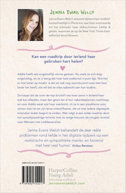 Jenna Evans Welch,Liefde & geluk