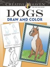 John Green Creative Haven Dogs Draw and Color