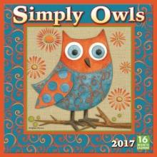 Simply Owls 2017 Calendar