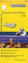 Michelin Michelin France Bouches-Du-Rhône, Var Map 340