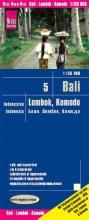 , Reise Know-How Landkarte Bali, Lombok, Komodo (1:150.000) - Indonesien