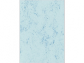 , structuurdesign Sigel A4 200grs pak a 50 vel marmer blauw