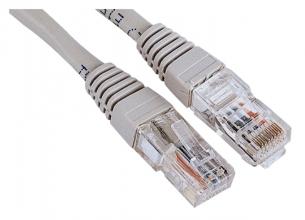 , Kabel Hama CAT5e UTP 150cm grijs